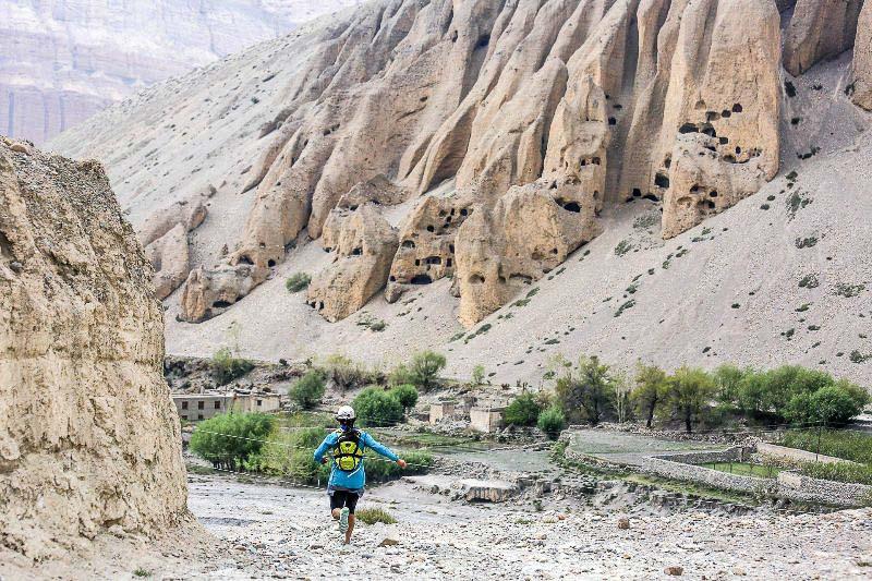 Running in Nepal altitude