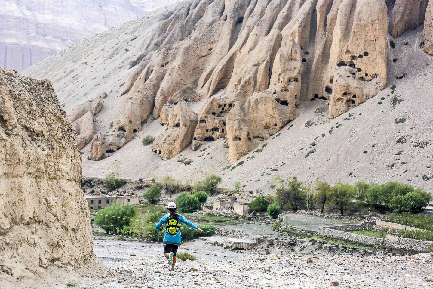 Running in Nepal altitude