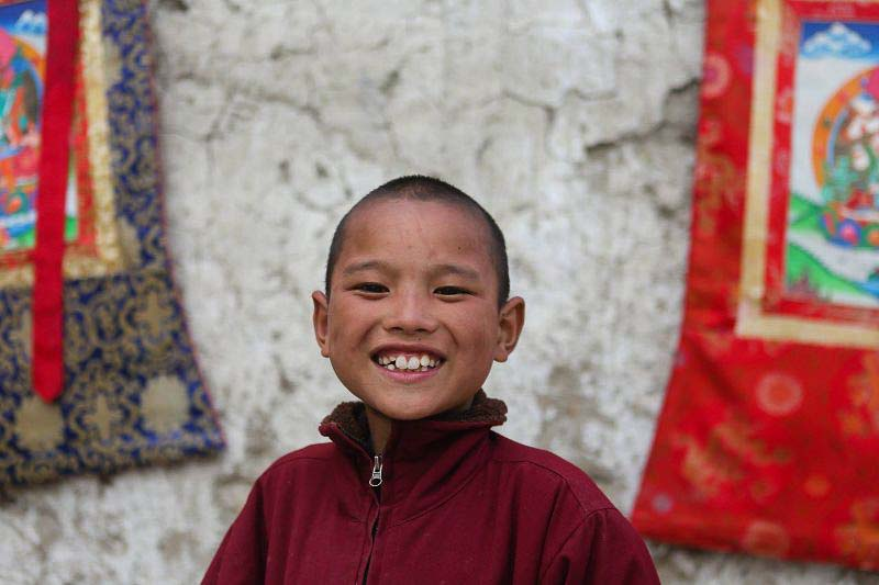 young monk mustang nepal