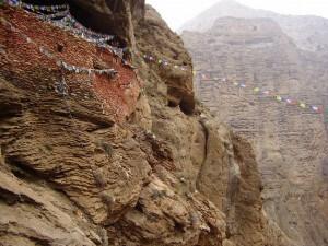 mustang chungsi cave monastery samar