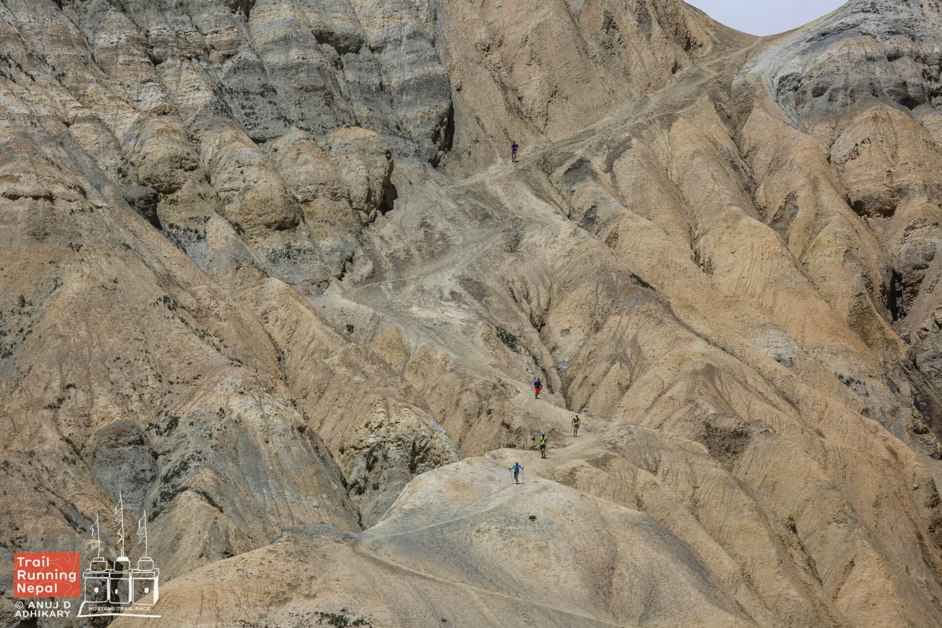 odd landscapes of mustang at Mustang Trail Race