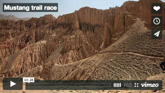 nepal mustang-trail-race-video