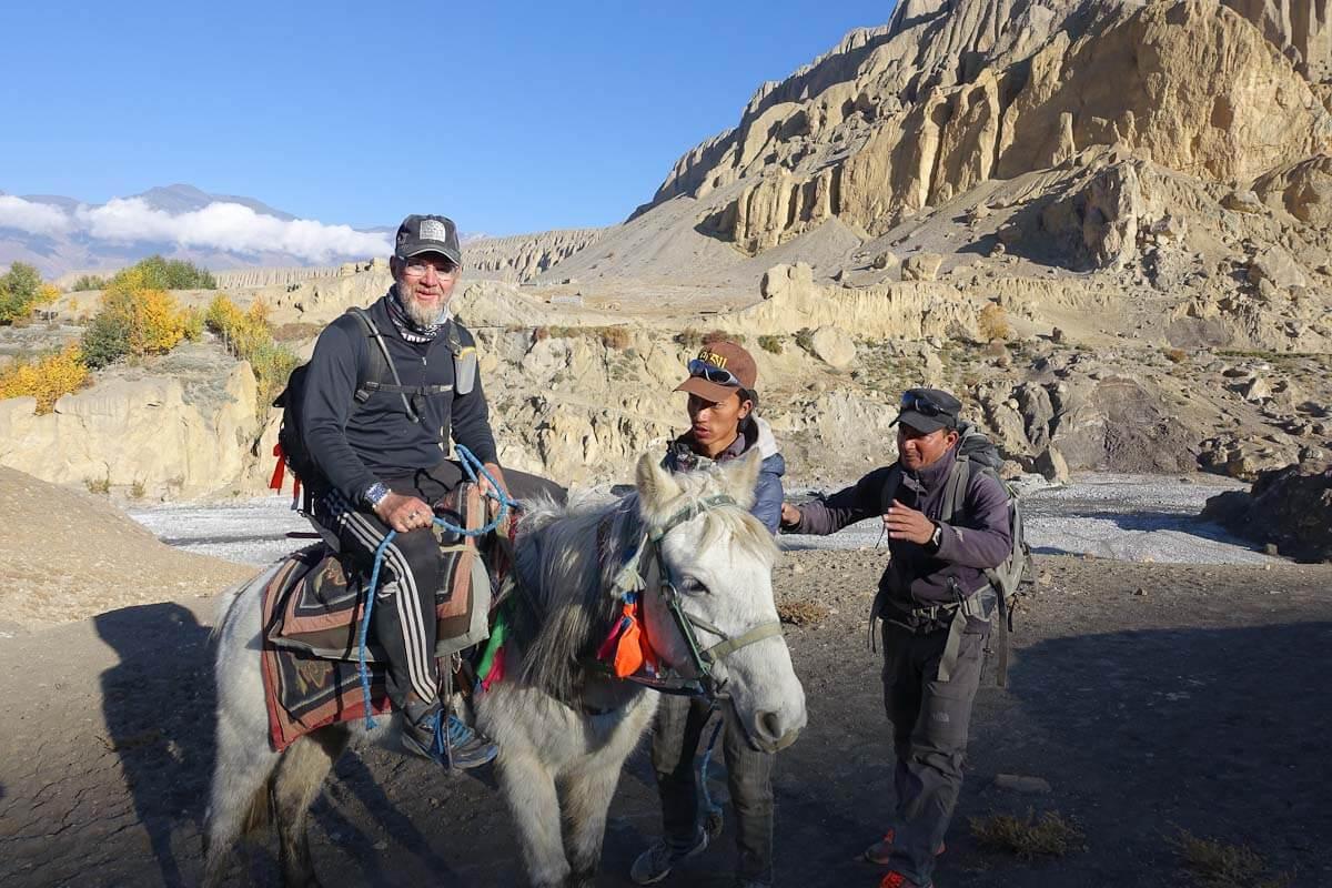 horse riding keith kostman mustang nepal