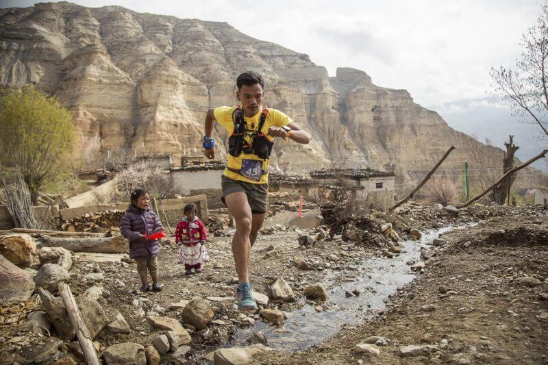 Manish Tamang ultra runner from Helambu