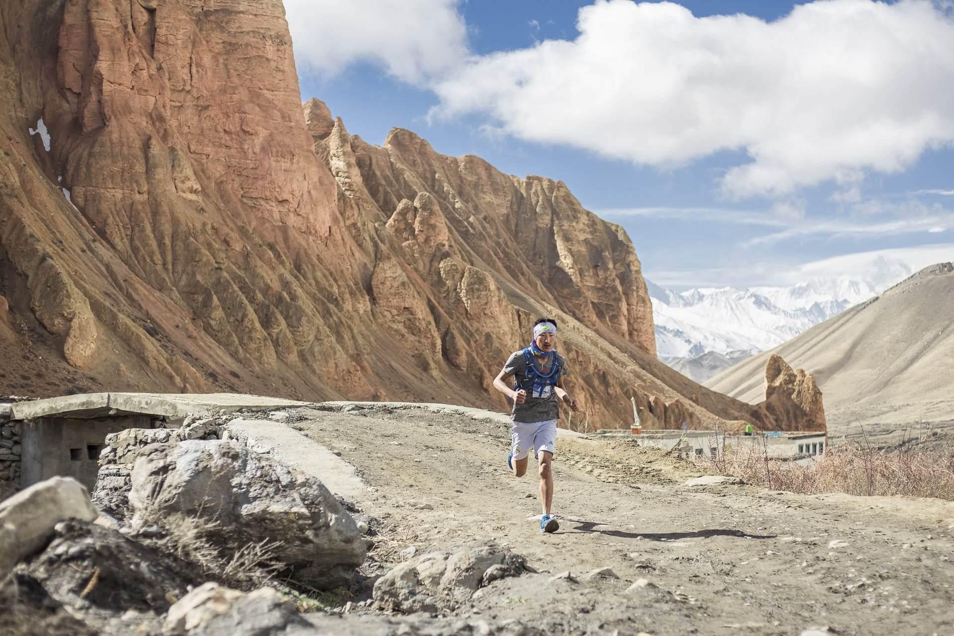 Umesh Rai, runner from Bhojpur, dakmar drakmar mustang nepal