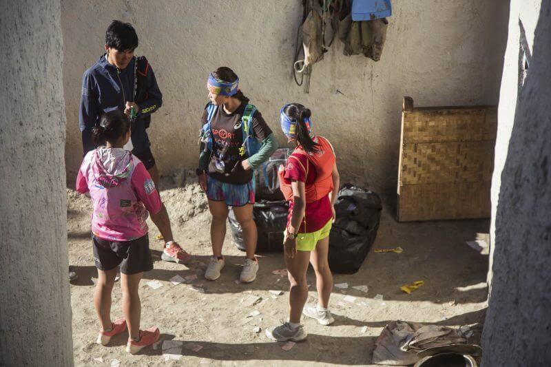 Mustang Trail Race Nepali trail athletes