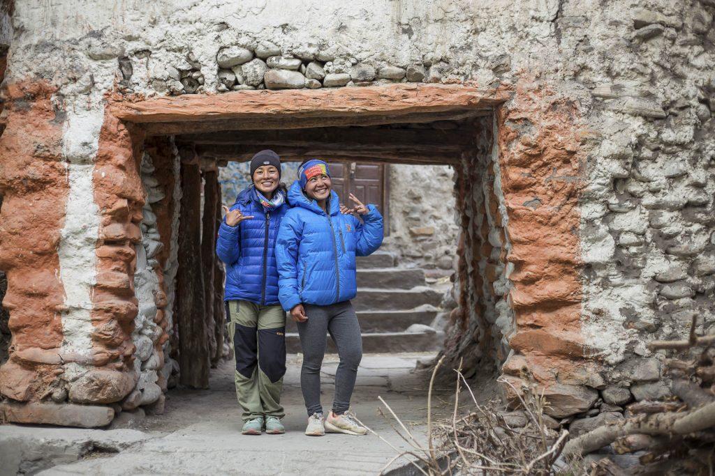 Priya and Rashila Tamang Nepali trail runners